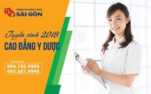 Trường Cao đẳng Y dược Sài Gòn tuyển sinh năm 2018 1