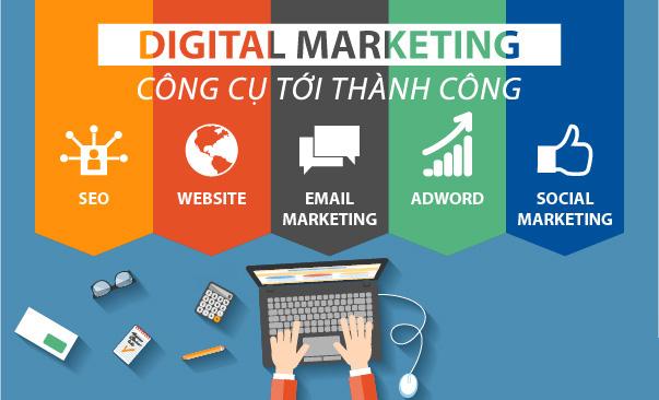 Các công việc của digital marketing
