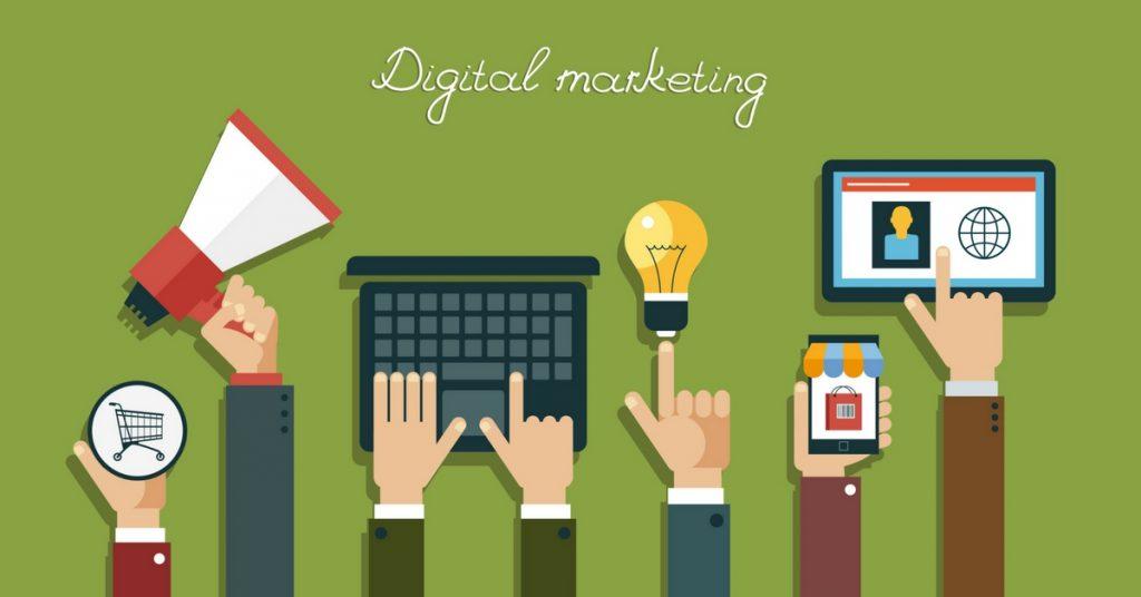 Các kênh digital marketing thông dụng nhất