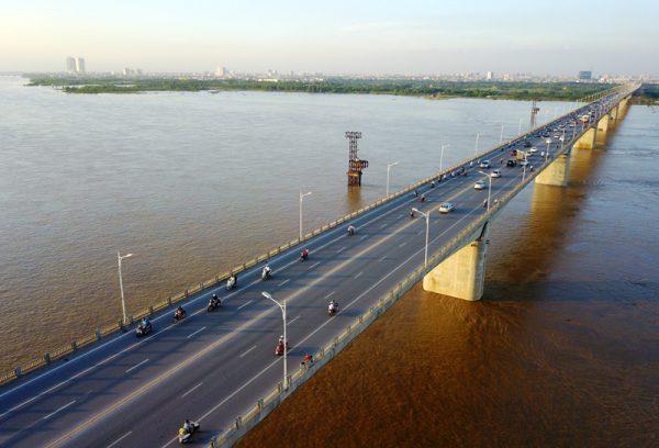 Cầu Vĩnh Tuy ở đâu? Thuộc quận nào? Cầu Vĩnh Tuy dài bao nhiêu km?