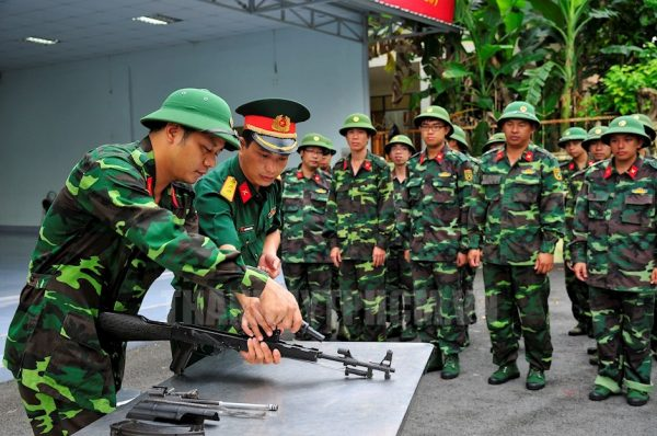 Quy định và chỉ tiêu các trường đại học quân đội tuyển nữ