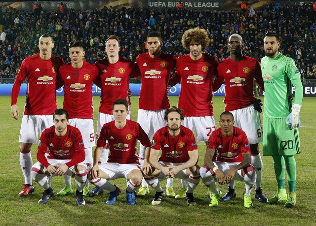 Tìm hiểu thông tin về đội hình Manchester United 2017