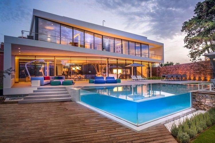 Những lưu ý quan trọng khi thiết kế nhà đẹp có hồ bơi