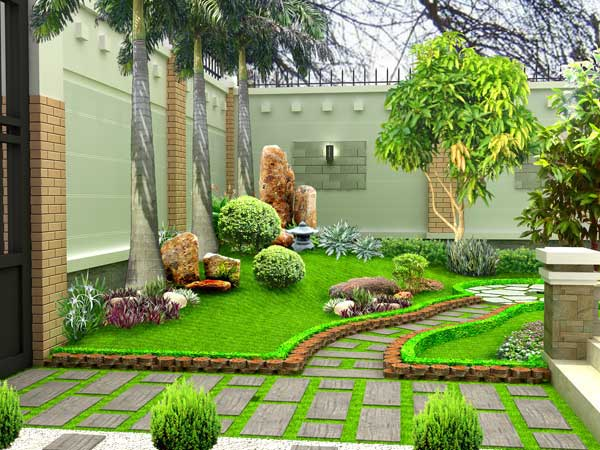 Tác dụng của thiết kế nhà vườn và một số mẫu nhà đẹp sân vườn