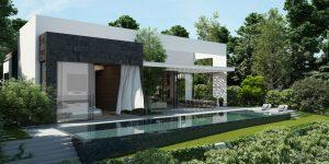 nhà 1 tầng đẹp đơn giản