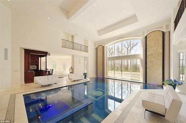 nhà đẹp có hồ bơi