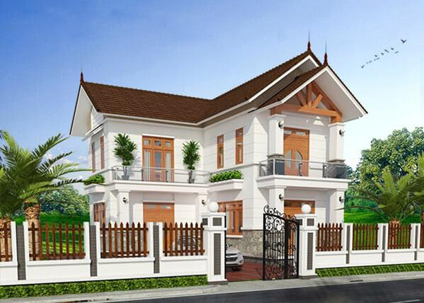 nhà đẹp chữ L