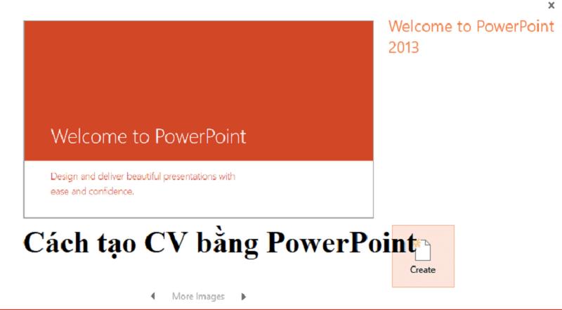 Cách làm CV bằng Powerpoit